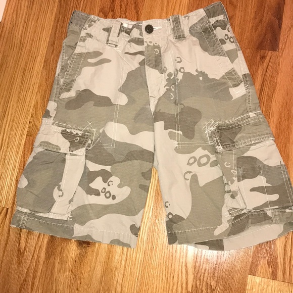 3d15a3b568 GAP Bottoms | Kids Camo Cargo Shorts | Poshmark